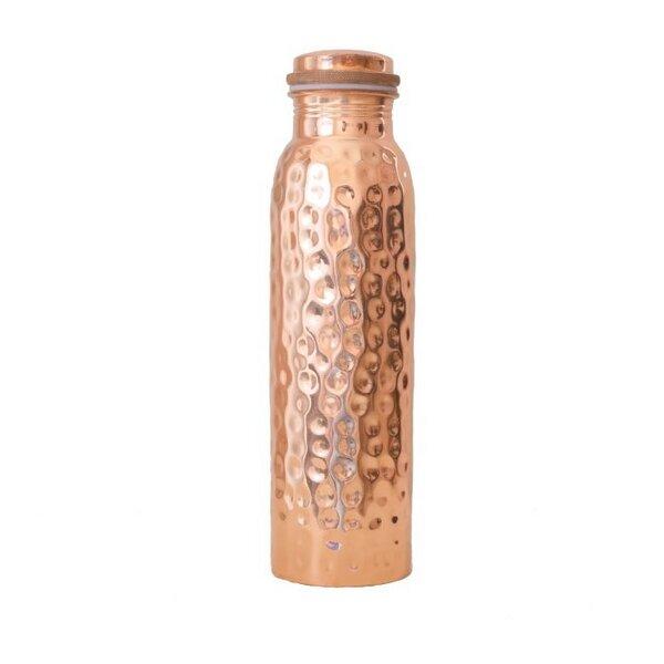 Kupfer Trinkflasche gehämmert 900ml