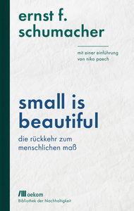Small is beautiful - OEKOM Verlag