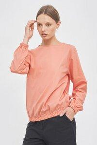 Bluse mit elastischen Bündchen - Mila.Vert