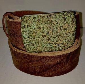 NEW YORK - Handgemachter Ledergürtel  - SaSch belt & bags