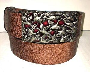 ACAPULCO - Handgemachter Ledergürtel  - SaSch belt & bags