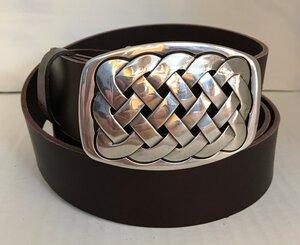 CANNES - Handgemachter Ledergürtel  - SaSch belt & bags