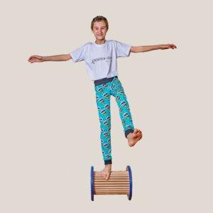 Slim-Fit Pyjamahose Dachs [vegan] mit Taschen - pajama-day