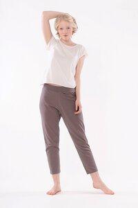 Yoga Hose aus Bio-Baumwolle mit legeren Schnitt - YOIQI
