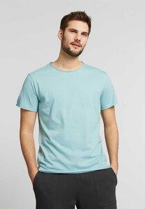 Herren T-Shirt Light Aqua Bio Fair - ThokkThokk