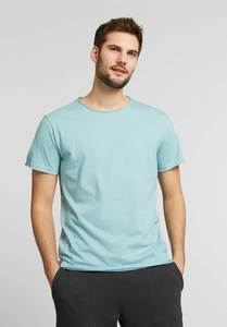 Herren T-Shirt Light Aqua Bio Fair - ThokkThokk