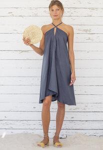 Tencel Midi Kleid Einheitsgröße  -  Multiposition Dress Short Tencel - Suite 13