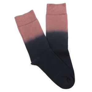 Organic Dip-Dye Socken Schwarz | Altrosa - bleed clothing GmbH