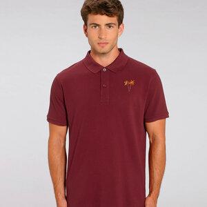Bio Baumwolle Pique Shirt / Palms - Kultgut