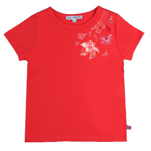 Kinder T-Shirt Blümchen  - Enfant Terrible