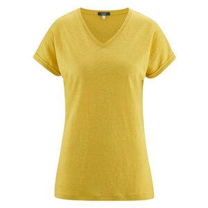 Living Crafts Damen T-Shirt Ava Bio-Leinen - Living Crafts