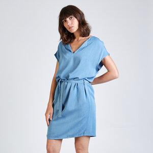 Kleid LAURA aus Lyocell - stoffbruch