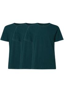 Herren T-Shirt 3er Pack Petrol Bio Fair - ThokkThokk