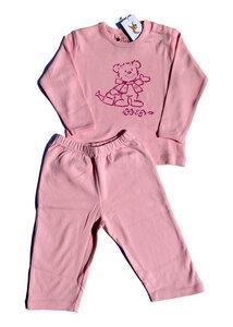 Mädchen Schlafanzug mit süßem Bärchendruck - Preciosa