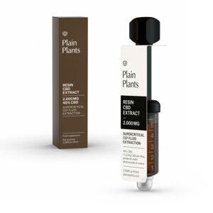 Plain Plants – Resin CBD Extrakt – 40% (2.000mg) CBD - Plain Plants