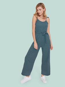 Stop By The Pool Jumpsuit – Spring Flowers Schwarz - Mademoiselle YéYé