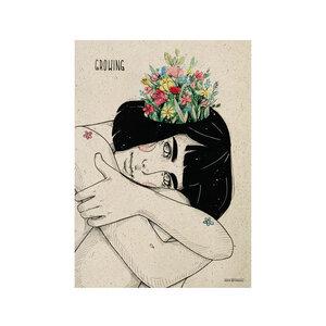 "Poster Graspapier - ""Growing"" - Matabooks"
