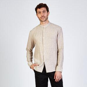 Hemd WES aus Leinen - stoffbruch