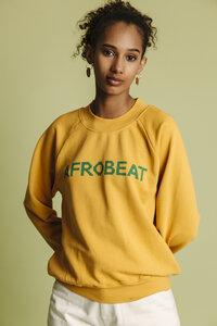 Sweatshirt Damen - Afro Beat Raglan - thinking mu