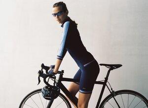 Kurze Damen Rennradhose Navy - Susy Cyclewear
