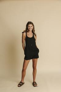 Jumpsuit Damen - Black Lilly - thinking mu