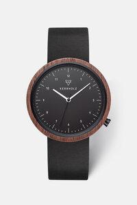 Unisex Uhr mit Holzkorpus 'HEINRICH' - Kerbholz