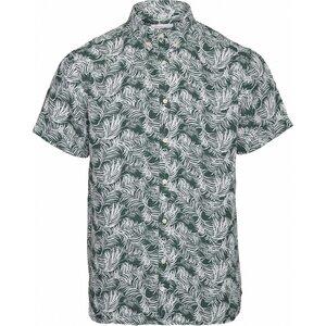 Hemd-Freizeit - Shirt - LARCH SS palm shirt - Vegan - KnowledgeCotton Apparel