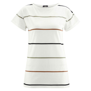 Living Crafts Damen T-Shirt Idony Bio-Baumwolle/Viskose - Living Crafts