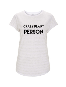 plant person girl T-shirt - WarglBlarg!