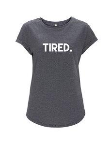tired. girl T-shirt - WarglBlarg!