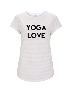 Yoga love girl T-shirt - WarglBlarg!