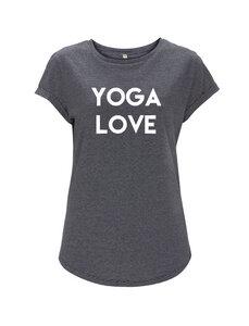 Yoga love girl T-shirt - WarglBlarg!
