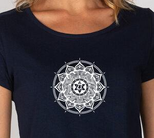 Basic Bio T-Shirt (ladies) Nr.2 Anahata Chakra - Brandless
