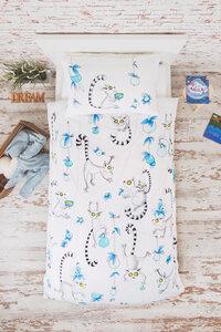 """OceanBluu Bettwäsche """"Lemuren"""" 200 cm x 135 cm, 75 cm x 50 cm - OceanBluu"""