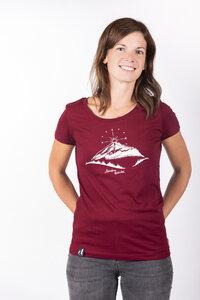 "Damen T-Shirt ""ELBerg"" in zwei Farben - ecolodge fashion"