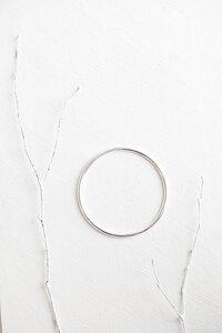 Edler Armreif aus recyceltem 925er Sterlingsilber - Oh Bracelet Berlin