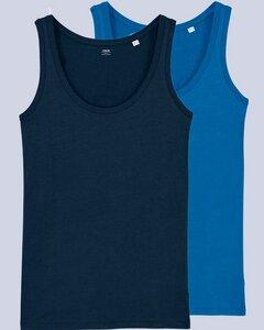 2er Pack Damen Top aus Bio Baumwolle, nachhaltig & fair, viele Farben - YTWOO