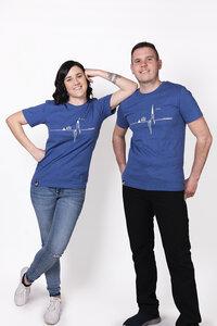 """Herren T- Shirt """"Heartbeat"""" - ecolodge fashion"""