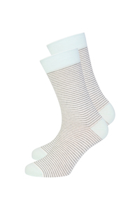 Gestreifte Socken aus Bio Baumwolle bunt | Basic Socks #STRIPES - recolution
