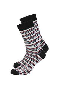 Gestreifte Socken aus Bio Baumwolle bunt | Basic Socks #STRIPES - recolution
