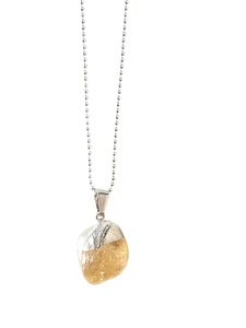 Tilly - Zitrin Halskette - Crystal and Sage