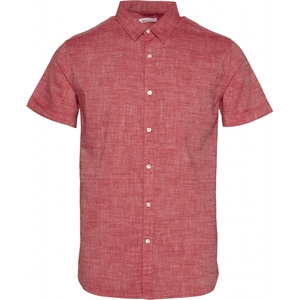 Larch Shortsleeve Linen Shirt GOTS - KnowledgeCotton Apparel