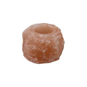 Teelichthalter aus Salz - Rock - Mitienda Shop