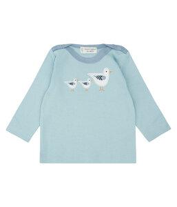 Langarm Shirt * Luna Storch Möve * GOTS Fair Trade | Sense Organics - sense-organics