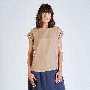 T-Shirt CAPRI aus Tencel® - stoffbruch