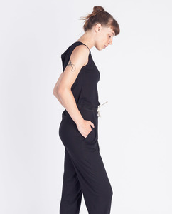 Frauen Jumpsuit | Riviera | schwarz - Degree Clothing