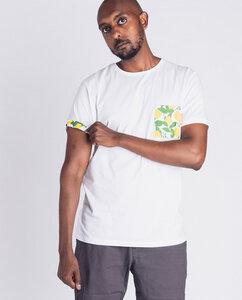 Männer T-Shirt   Lemonlib   weiß - Degree Clothing