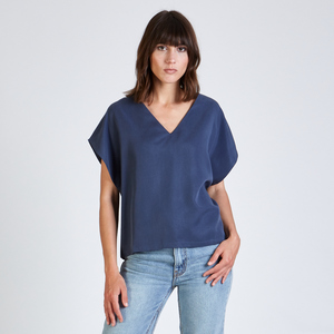 Top RUBY aus Tencel - stoffbruch