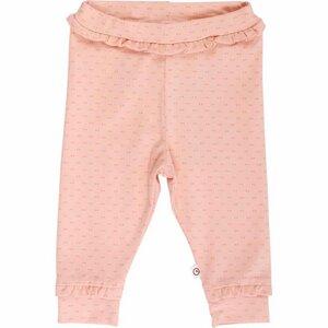 Leggings * Dot Frill Pants peach * | GOTS zertifiziert | Müsli - Müsli by Green Cotton