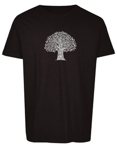 Basic Bio T-Shirt (men) Nr.2 tree life - Brandless